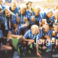Coleccionismo deportivo: IFK GOTEBORG. CAMPEÓN COPA UEFA 1986-1987 EN TANNADICE PARK CONTRA DUNDEE UNITED (V). FOTO. Lote 209417295