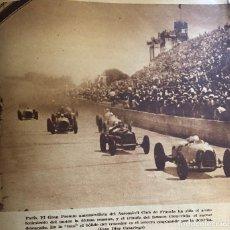 Coleccionismo deportivo: FOTOGRAFÍA DE PRENSA. PILOTO CARACCIOLA EN PARÍS. ORIGINAL AÑO 1935. 17 X 17 CM. BUEN ESTADO.. Lote 210014711