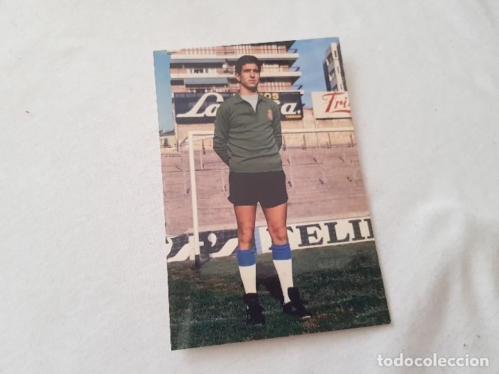 FOTOGRAFÍA AÑOS 70 DEL PORTERO BORJA (ESPANYOL / ESPAÑOL) 10X15 (Coleccionismo Deportivo - Documentos - Fotografías de Deportes)