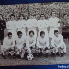 Coleccionismo deportivo: (F-200701)FOTOGRAFIA ORIGINAL DEL REAL MADRID AÑOS 70 - FOTO PASTOR. Lote 210436648