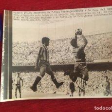 Coleccionismo deportivo: F8461 FOTO FOTOGRAFIA ORIGINAL DE PRENSA ATLETICO MADRID 1-1 ATHLETIC BILBAO (17-5-1970) RODRI. Lote 210578065