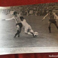 Coleccionismo deportivo: F8464 FOTO FOTOGRAFIA ORIGINAL DE PRENSA SAN ANDRES 0-0 VALENCIA (26-2-1976) COPA OCAMPOS. Lote 210578496