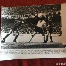 Coleccionismo deportivo: F8465 FOTO FOTOGRAFIA ORIGINAL DE PRENSA BARCELONA 3-1 SALAMANCA (25-2-1976) COPA MARCIAL. Lote 210578620