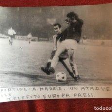Coleccionismo deportivo: F8468 FOTO FOTOGRAFIA ORIGINAL DE PRENSA SPORTING GIJON ATLETICO MADRID. Lote 210578827