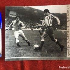 Coleccionismo deportivo: F8475 FOTO FOTOGRAFIA ORIGINAL DE PRENSA OVIEDO 0-0 BETIS (5-11-1972) SECADES. Lote 210580480