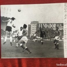 Coleccionismo deportivo: F8476 FOTO FOTOGRAFIA ORIGINAL DE PRENSA OVIEDO 1-0 BURGOS (29-10-1972). Lote 210580543