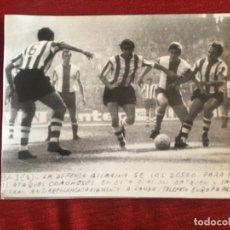 Coleccionismo deportivo: F8482 FOTO FOTOGRAFIA ORIGINAL DE PRENSA ATHLETIC BILBAO DEPORTIVO CORUÑA BETZUEN SAEZ. Lote 210581077