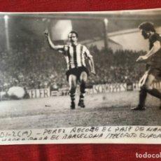 Coleccionismo deportivo: F8483 FOTO FOTOGRAFIA ORIGINAL DE PRENSA ATHLETIC BILBAO 0-1 BARCELONA (21-3-1972) PEREZ MARCIAL. Lote 210581157
