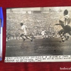 Coleccionismo deportivo: F8485 FOTO FOTOGRAFIA ORIGINAL DE PRENSA ATHLETIC BILBAO REAL MADRID (7-3-1971)IRIBAR SAEZ VELAZQUEZ. Lote 210581723