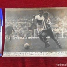 Coleccionismo deportivo: F8487 FOTO FOTOGRAFIA ORIGINAL DE PRENSA ATHLETIC BILBAO 2-0 ELCHE (14-2-1971) ORTUONDO. Lote 210582030