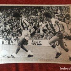Coleccionismo deportivo: F8495 FOTO FOTOGRAFIA ORIGINAL DE PRENSA ESPANYOL ESPAÑOL 1-0 ATLETICO MADRID PANADERO DIAZ RAMOS. Lote 210583278
