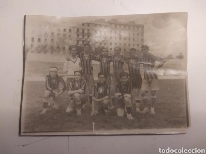 EQUIPO DEL COLEGIO DE LA INMACULADA DE ARENEROS (Coleccionismo Deportivo - Documentos - Fotografías de Deportes)