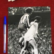 Coleccionismo deportivo: F8606 FOTO FOTOGRAFIA ORIGINAL DE PRENSA ATLETICO MADRID REAL MADRID LEIVINHA. Lote 210724450