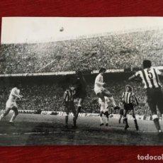 Coleccionismo deportivo: F8608 FOTO FOTOGRAFIA ORIGINAL PRENSA ATLETICO MADRID REAL MADRID DEL BOSQUE LEIVINHA PEREIRA REINA. Lote 210724737