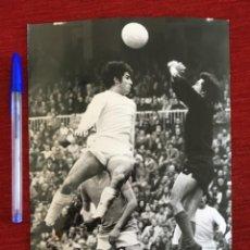 Coleccionismo deportivo: F8609 FOTO FOTOGRAFIA ORIGINAL PRENSA REAL MADRID OVIEDO CESAR SANTILLANA. Lote 210724869