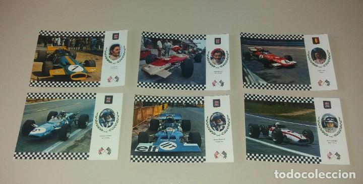 Coleccionismo deportivo: Postales Fórmula 1. Años 70. Brabham, Hill, Stewart, Pedro Rodriguez, etc.. 20 diferentes - Foto 2 - 212313828