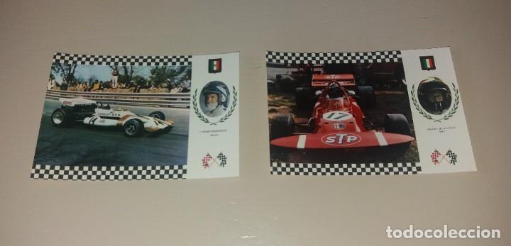 Coleccionismo deportivo: Postales Fórmula 1. Años 70. Brabham, Hill, Stewart, Pedro Rodriguez, etc.. 20 diferentes - Foto 5 - 212313828