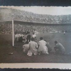 Coleccionismo deportivo: MADRID ESTADIO FUTBOL CHAMARTIN PARTIDO ESPAÑA INGLATERRA 12 MAYO 1949 FOTOGRAFIA 5,5 X 7,5 CMTS. Lote 212488618
