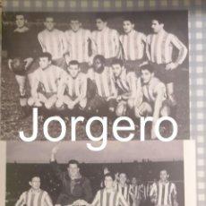 Coleccionismo deportivo: AT. MADRID. LOTE 2 FOTOS CAMPEÓN RECOPA 1961-1962 EN STUTTGART CONTRA LA FIORENTINA. Lote 212534752
