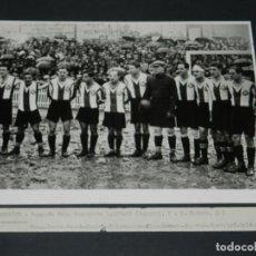 Coleccionismo deportivo: (M) FOTOGRAFIA CÓPIA DE LA ÉPOCA - RCD ESPAÑOL CAMPEÓN COPA TEMP 1928 / 29 RICARDO ZAMORA, SAPRISA. Lote 213537817