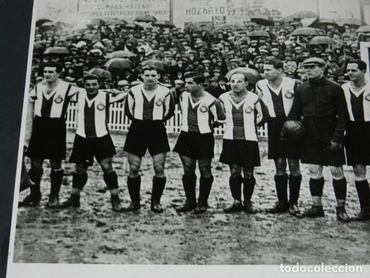 Coleccionismo deportivo: (M) FOTOGRAFIA CÓPIA DE LA ÉPOCA - RCD ESPAÑOL CAMPEÓN COPA TEMP 1928 / 29 RICARDO ZAMORA, SAPRISA - Foto 3 - 213537817