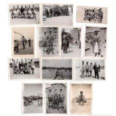 Coleccionismo deportivo: VALDEMORO.(MADRID).- CLUB ATLETICO VALDEMORO Y EQUIPO GUARDIAS JOVENES. GUARDIA CIVIL. 1949-50.. Lote 214195358