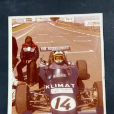 Coleccionismo deportivo: FOTOGRAFIA DE COCHE. RALLY. RALLYE. JARAMA 75. MADRID. VER FOTOS.. Lote 214255168