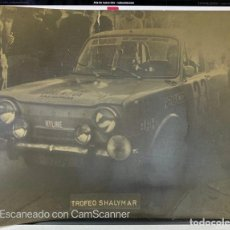 Coleccionismo deportivo: FOTOGRAFIA. RALLY. RALLYE. SHALYMAR 73. A. IBAÑEZ. MADRID. VER FOTOS. Lote 214255456
