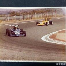Coleccionismo deportivo: FOTOGRAFIA. RALLEY. RALLY. CIRCUITO DEL JARAMA, 1975. A. IBAÑIZ. MADRID. VER FOTOS. Lote 214255707