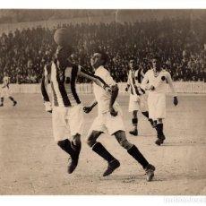 Coleccionismo deportivo: PARTIDO REAL MADRID CONTRA REAL SOCIEDAD 1928?. MEDIDAS 15X17,5. FOTO ALVARO.. Lote 214365467