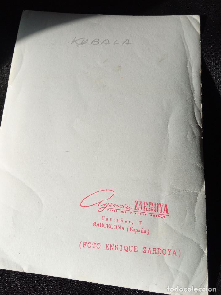Coleccionismo deportivo: Fotografia de Kubala - Foto 2 - 215472713