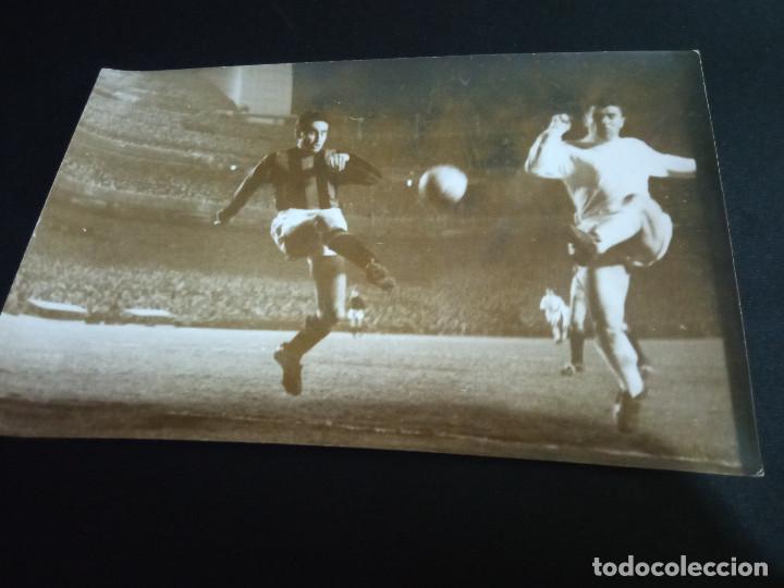 FOTOGRAFÍA PUSKAS REAL MADRID-NIZA (Coleccionismo Deportivo - Documentos - Fotografías de Deportes)