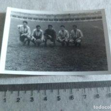 Coleccionismo deportivo: FOTOGRAFIA SAN ANDRES ANDREU BARCELONA FUTBOL AÑOS 40 JUGADORES. Lote 217355693