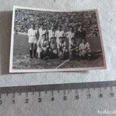 Coleccionismo deportivo: FOTOGRAFIA ALINEACION REAL VALLADOLID FUTBOL RAMALLETS TEMP. 46 -47 LEER. Lote 217357391
