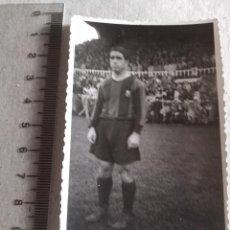 Coleccionismo deportivo: FOTOGRAFIA ORIGINAL JUGADOR F.C BARCELONA AÑOS 40. Lote 217365493