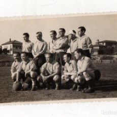 Coleccionismo deportivo: FOTOGRAFIA EQUIPO FUTBOL DE BIZKAIA. FOTO SAEZ, BILBAO. C.1950. Lote 217883838