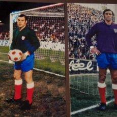 Coleccionismo deportivo: PORTEROS DEL ATHLETICO DE MADRID. Lote 217924525