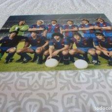Collezionismo sportivo: FOTO MATE (15 X 20) F.C.BARCELONA 1982 CAMP NOU CON MARADONA Y SCHUSTER. Lote 218380702