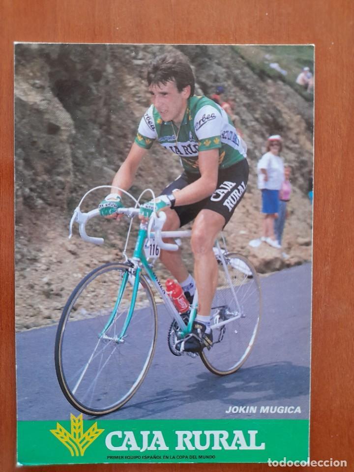 CICLISMO - EQUIPO CAJA RURAL ORBEA - AÑOS 1987-88 - JOKIN MUGICA (Coleccionismo Deportivo - Documentos - Fotografías de Deportes)