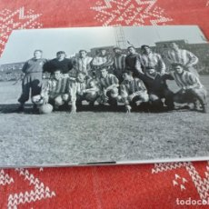 Coleccionismo deportivo: FOTO MATE (15 X 20) 1956 AMISTOSO BENÉFICO EN MONTJUICH (BARÇA)-F.C.BARCELONA-R.C.D.ESPAÑOL. Lote 218658982