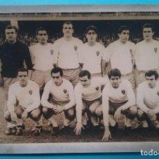 Coleccionismo deportivo: REAL ZARAGOZA FOTOGRAFÍA EQUIPO FÚTBOL AÑOS '60. Lote 218902771