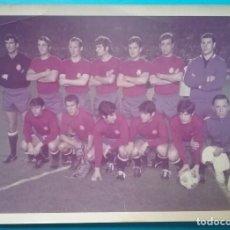 Collezionismo sportivo: FÚTBOL ESPAÑA EQUIPO NACIONAL SELECCIÓN ESPAÑOLA FOTOGRAFÍA EQUIPO 1970. Lote 218905062