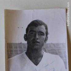 Collezionismo sportivo: FOTOGRAFIA JOSE VICENTE FORMENT, VALENCIA C. FUTBOL, FIRMADA, AÑOS 60. Lote 219049226