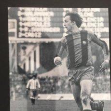 Coleccionismo deportivo: FOTO DE JOHAN CRUYFF - FUTBOL CLUB BARCELONA. Lote 219376471