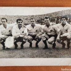 Collectionnisme sportif: FOTO DI STÉFANO KUBALA PARTIDO INTERCIUDADES BARCELONA BOLONIA 1955 FÚTBOL RCD ESPAÑOL BARÇA MADRID. Lote 219740563