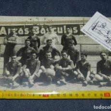 Coleccionismo deportivo: (M) FOTOGRAFIA ORIGINAL DEL FC BARCELONA - RICARDO ZAMORA, PAULINO ALCANTARA, JOSÉ SAMTIER AÑOS 10. Lote 219897072