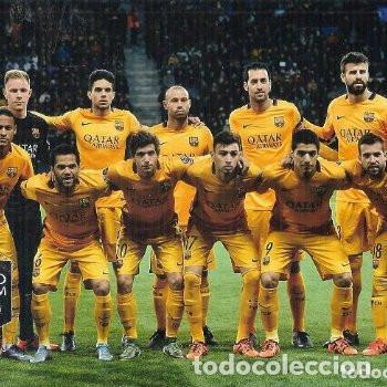 FOTOGRAFIA FC BARCELONA CHAMPIONS LEAGUE 2015/16 15/16 (Coleccionismo Deportivo - Documentos - Fotografías de Deportes)