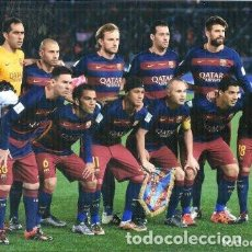 Coleccionismo deportivo: FOTOGRAFIA FC BARCELONA EN LA FINAL DEL MUNDIAL DE CLUBS 2015. Lote 221276143