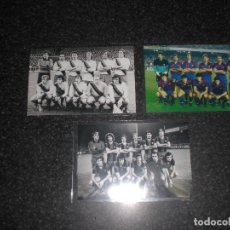 Coleccionismo deportivo: LOTE 3 FOTOGRAFIAS FC BARCELONA. Lote 221287792