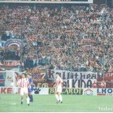 Coleccionismo deportivo: FOTOGRAFÍA ORIGINAL HINCHADA OLYMPIAKOS GRECIA. Lote 221655667